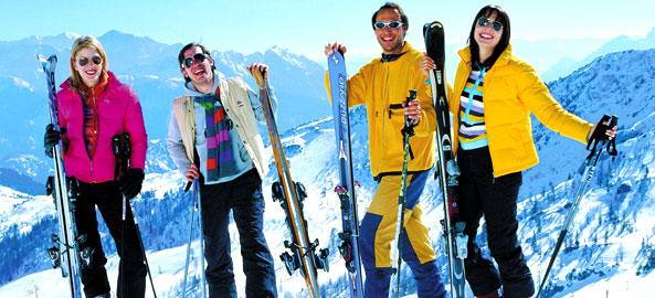 Hotele blisko wypożyczalni nart w Austrii